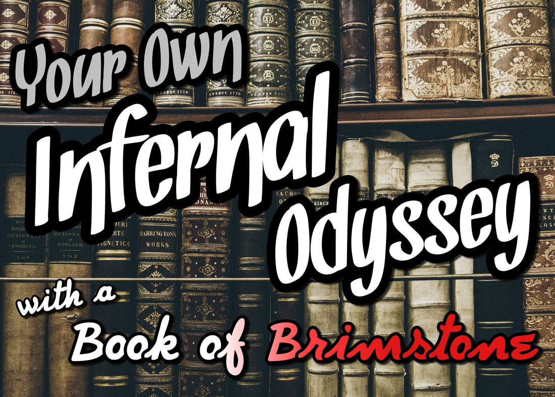 Your Infernal Odyssey with a Book of Brimstone - Ave Witch, a blog by a Satanist
